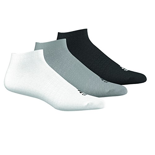Adidas Performance No-Show Thin 3PP, Calcetines unisex, 3 pares