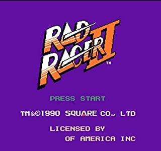 Rad Racer 2 Region Free 8 Bit Game Card For 72 Pin Video Game Player