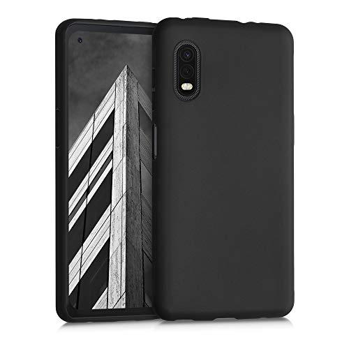 kwmobile Custodia Compatibile con Samsung Galaxy Xcover PRO - Cover in Silicone TPU - Back Case per Smartphone - Protezione Gommata Nero Matt
