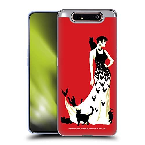 Head Case Designs sous Licence Officielle Batman DC Comics Couverture de Variante n ° 50 Catwoman Coque en Gel Doux Compatible avec Samsung Galaxy A80 (2019)