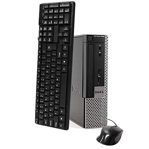 Dell Optiplex 9020 Ultra Small Tiny Desktop Micro Computer PC, Intel Core i5-4570T, 8GB Ram, 256GB Solid State SSD, WiFi, Bluetooth, Win 10 Pro (Renewed). Buy it now for 227.99