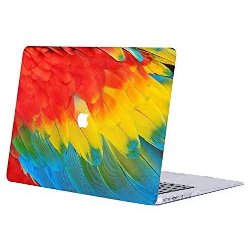 AJYX Funda Dura para 2019 2018 2017 2016 MacBook Pro 13 con/sin Touch Bar A2159 A1989 A1706 A1708 Carcasa Rígida Protector de Plástico Cubierta,J764 Pluma de Color