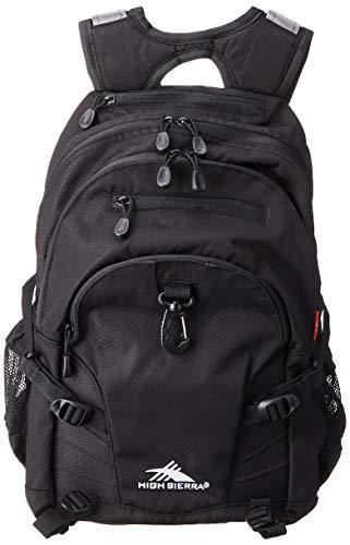 High Sierra Loop Backpack, 19 x 13.5 x 8.5-Inch, Black