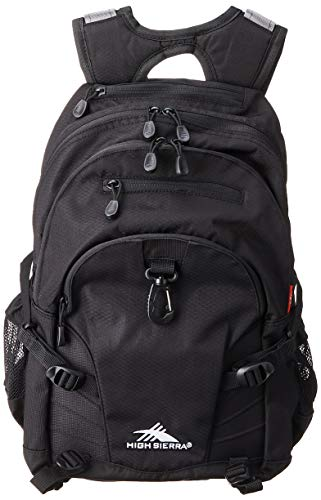 High Sierra Loop-Backpack, 19 x 13.5 x 8.5-Inch, Space Age/Black