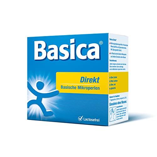 Basica Direkt, basischen Mikroperlen zur direkten Einnahme ohne Wasser, für Diät, Basenfasten, vegan, laktosefrei, 30 Sticks