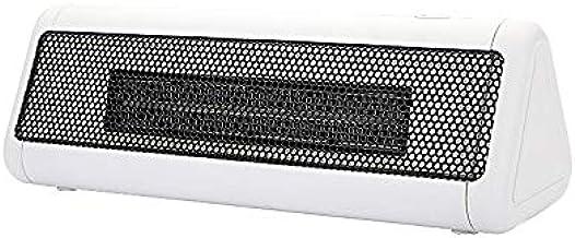 Bajo Consumo De Energía 300W Pequeños Calentadores, Baño Principal Offic para El Invierno Calentador De Silencio con Termostato Ajustable, Y La Protección contra El Sobrecalentamiento,Blanco