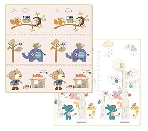 Trendcool Tapis pour bébé rembourré. Sol en caoutchouc EVA 1,8 x 2 m et 1,5 x 2 m. Tapis Bebe. Tapis de sol pour bébé. Couverture Jeux Bebe. (Small 1,5 m)
