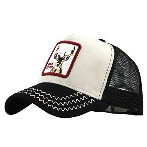 LOPILY Gorras de béisbol Sencillo Sombrero Sol Mujer...