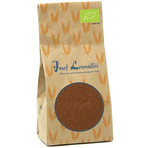 Bio Backmalz dunkel Roggenmalz 1kg | enzyminaktiv und ballaststoffreich | natürliches Malzmehl für Brot & Brötchen | nachhaltig hergestellt in Österreich | Brötchenbackmittel für Brot wie vom Bäcker