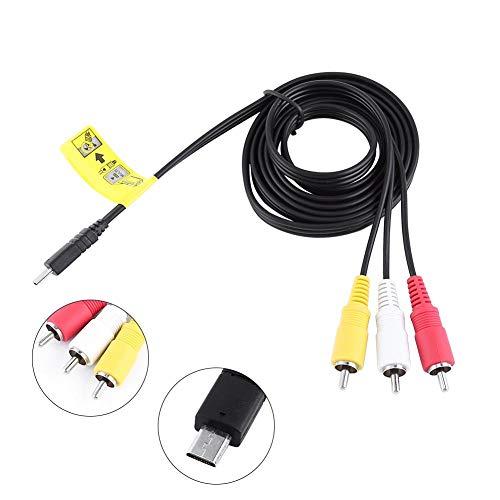 Cable AV, Cable de Audio y Video de 1.5 m para Sony...