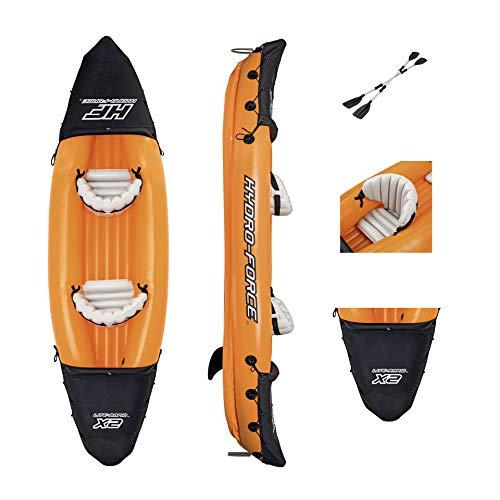 RHSMW Kayak Inflable, Kayak A La Deriva De Diseño Cómodo Traje De Kayak Adecuado para La Pesca En Kayak Canoa Plegable Inflable 321M X 88Cm