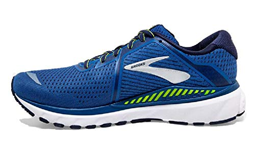 Brooks Herren Adrenaline GTS 20 Laufschuh, Blue Nightlife White, 44.5 EU