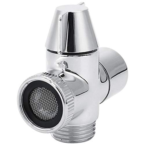 PBOHUZ Desviador-M22 * 1 Adaptador de Grifo de Agua de Rosca Hembra Desviador Conector de Tres vías para baño doméstico