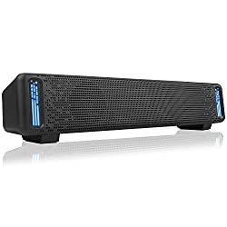 in budget affordable Jeecoo A50 computer stereo, wired desktop speakers, USB computer soundbar …