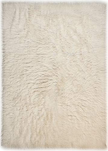 Theko -  Flokati Teppich aus