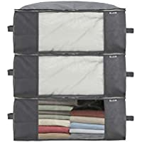Sami Time Clothes Blanket Storage Organizer with Reinforced Handle-Set