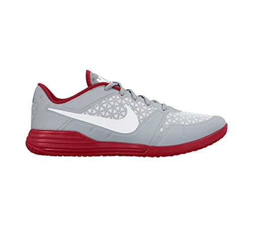Nike New Men's Lunar Ultimate TR Cross Trainer Grey/University Red 8.5