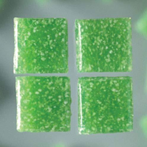 MosaixPro 200 g, 10 x 10 x 4 mm, 302, Vetro, Piastrelle, Medio, Colore: Verde