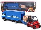 TOYLAND® - Juego de vehículos Diecast Metal Load and Go - Camión de...