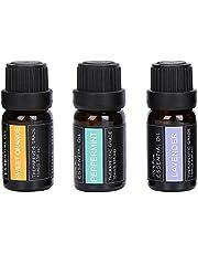3st 10ml Eteriska Oljor, Aromaterapi Oljor för Sömn Lavendel Eterisk Olja Naturlig Doft Kroppsmassage Aromaterapi för Diffusor Luftfuktare Massage Aromaterapi