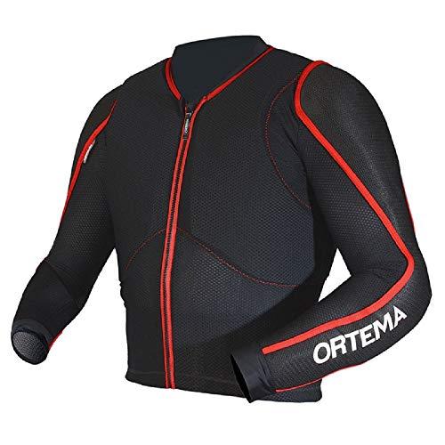 ORTHO-MAX Jacket Gr.S - Unisex - Protektorenjacke für den optimalen Rundumschutz - Schützt die Wirbelsäule, Schultern und Ellenbogen - Motocross/Enduro/MTB/Trial & mehr