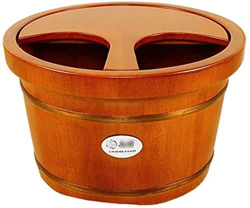 Houten voetenbad Barrel - met deksel Home Pedicure Barrel voetenbad Barrel 9.8 '' 13 7 '' Voetkuip (kleur: A1# Maat: 25cm 9.8'' 35cm 13 7 '') 25 cm/9,8 inch, 35 cm/13,7 inch - a2#.
