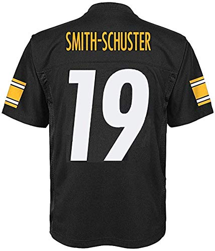 Juju Smith-Schuster Pittsburgh Steelers NFL Youth 8-20 Black Home Mid-Tier Jersey (Youth Medium 10-12)