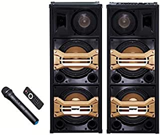 Geepas 2.0 Channel Professional Speaker - Gms8517,Black