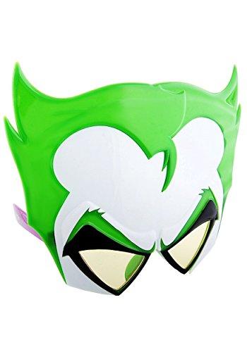 Costume Sunglasses Joker Sun-Staches Party Favors UV400, One-Size