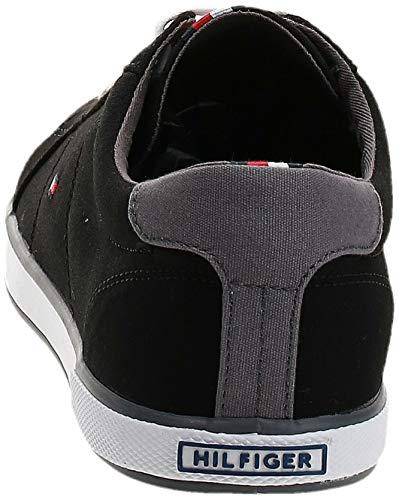 Tommy Hilfiger Herren Sneakers, Schwarz - 3
