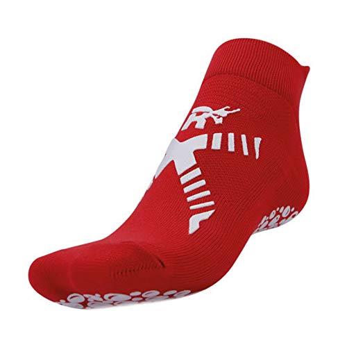 R-EVENGE - Calcetines de deporte - para niño rojo / blanco 20/24 ES