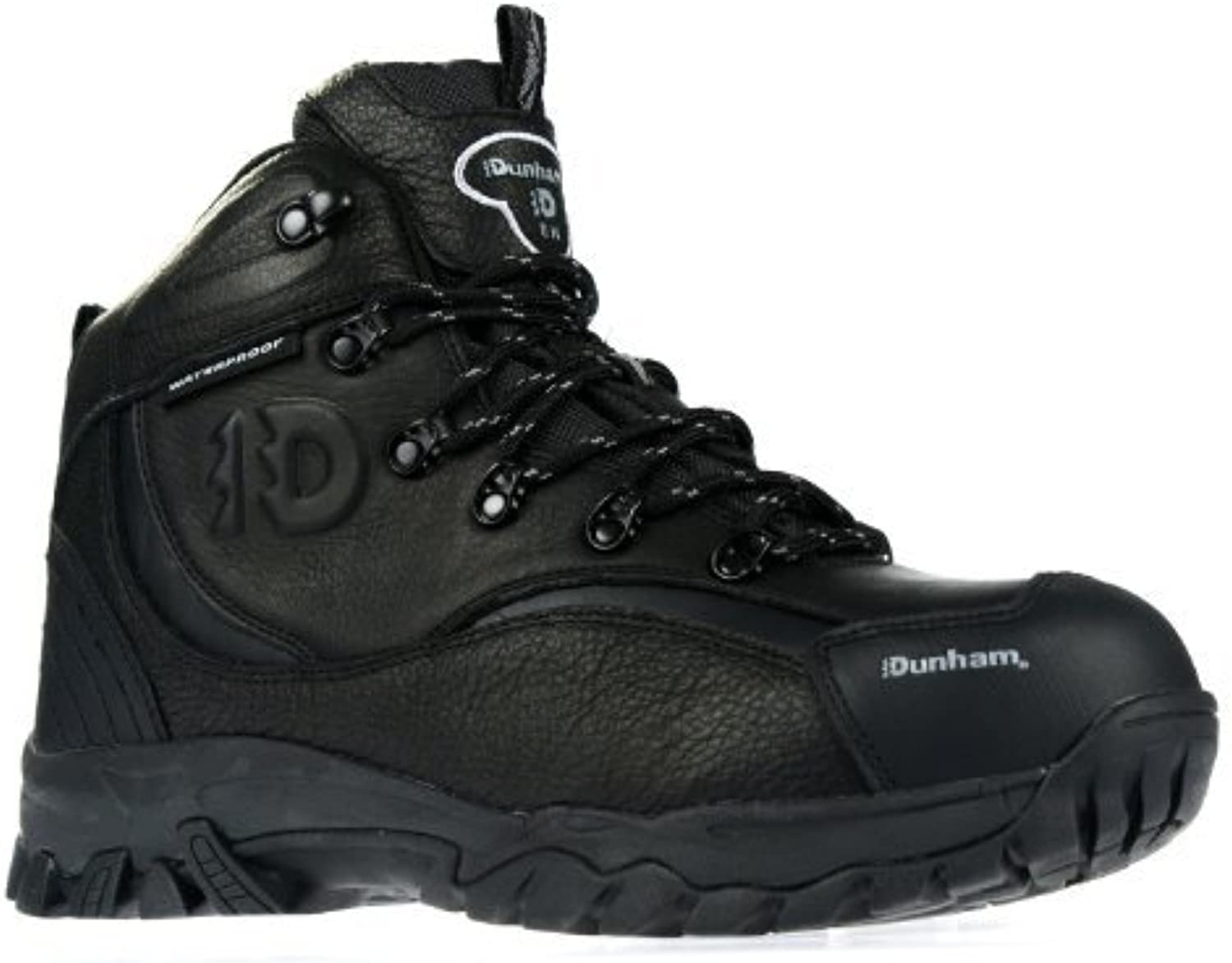 New Balance Dunham by Acadia 402 Steel Toe Mens Black Work Boot Hiker
