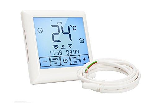 Thermostat für elektrische Fußbodenheizung BH-55 mit Touchscreen