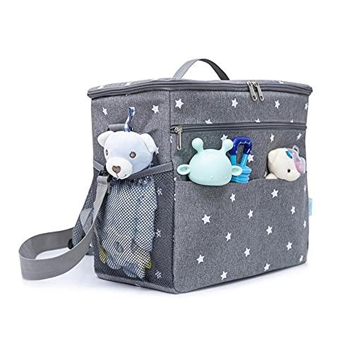 3 en 1Diaper Bag Backpack, múltiples Bolsas de Viaje de Viajes, Gran Capacidad con Correas de Cochecito, Duradero y Elegante para Hombres Que Llevan Hombres