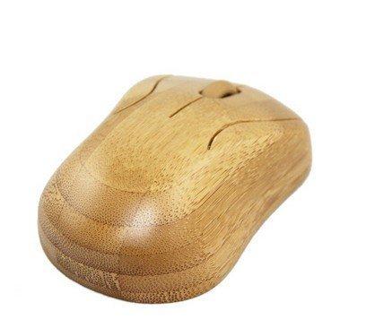 3CTop Bluetooth pc-toetsenbord en -muis, draadloos, handgemaakt, van bamboehout, 3#