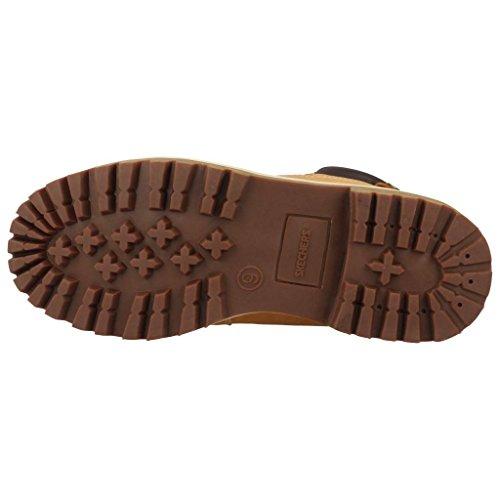 Skechers Men's Sergeants - Verdict-4442 Warm Lining Chelsea Boots, Beige Wheat, 12 UK