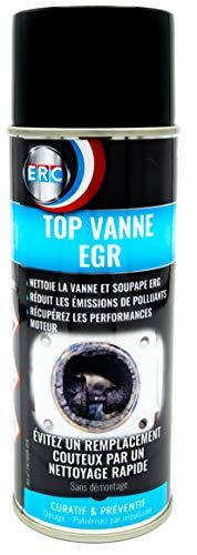 Nettoyant Vanne EGR ERC/Nettoyage Rapide sans Démontage/Élimine l'Encrassement/Améliore l'Accélération – Aérosol Entretien Premium (400 ml)