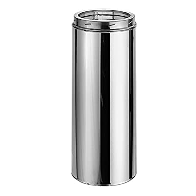 Chimney 70608 6 in. x 12 in. Duratech Factory-Built Chimney