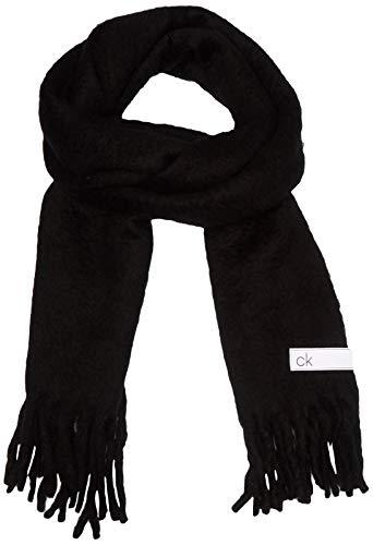 Calvin Klein K60k606172 conjunto bufanda, gorro y guantes, Negro (Black Bds), One Size para Mujer