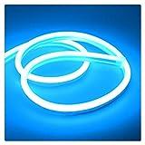 Male god Tira De Luz De Neón Estrecha De 6 Mm 12 V LED SMD 2835 120 LED/M Tubo De Cuerda Flexible Impermeable, Utilizado Para Luces De Decoración Navideña De Bricolaje (Color : Ice blue)