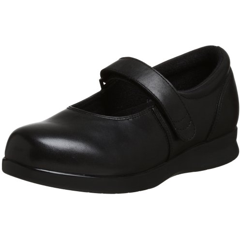 Drew Shoe Women's Bloom II Mary Jane,Black Calf,6.5 N US