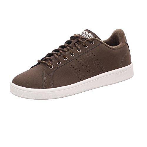 adidas CF Advantage Cl, Scarpe da Fitness Uomo, Marrone (Marosc/Marosc/Madera 000), 40 2/3 EU
