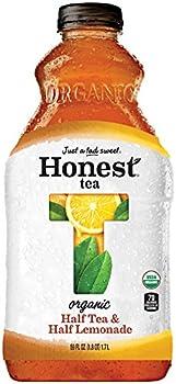 8-Pack 59 Fluid Ounce Honest Tea Half Tea and Half Lemonade