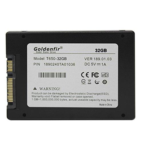 BeIilan Goldenfir SATA 3.0 2.0 Solid State Drive Festplatten-SSD-Laptops Ersatzzubehör 32G