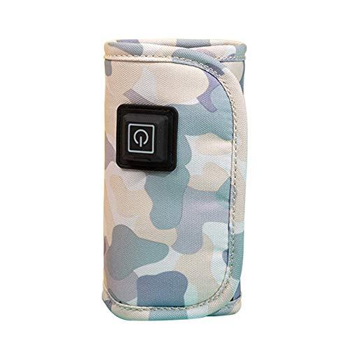 Calentador de botellas de leche materna, 5 V, portátil, portátil, para coche, calentador de botellas de viaje, con USB, para mantener la leche caliente