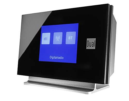 Dual DAB 3 A Digitalradio-Adapter mit Fernbedienung (TFT-Display, DAB(+)/UKW-Tuner, Bluetooth, AUX-IN) Schwarz