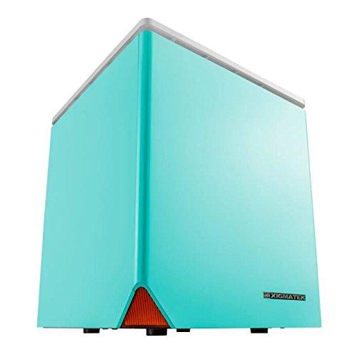 Boitier PC Mini ITX Xigmatek Nebula, Bleu (EN6817)