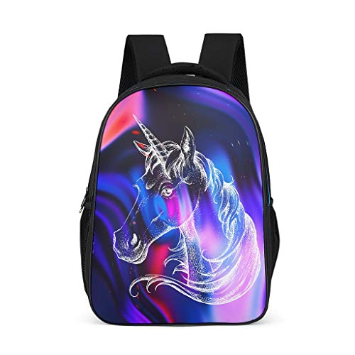 O2ECH-8 Rugzak Unicorn Schoolrugzak Jongens Kinderrugzak - Schoolrugzak voor meisjes laptop rugzak vrouwen