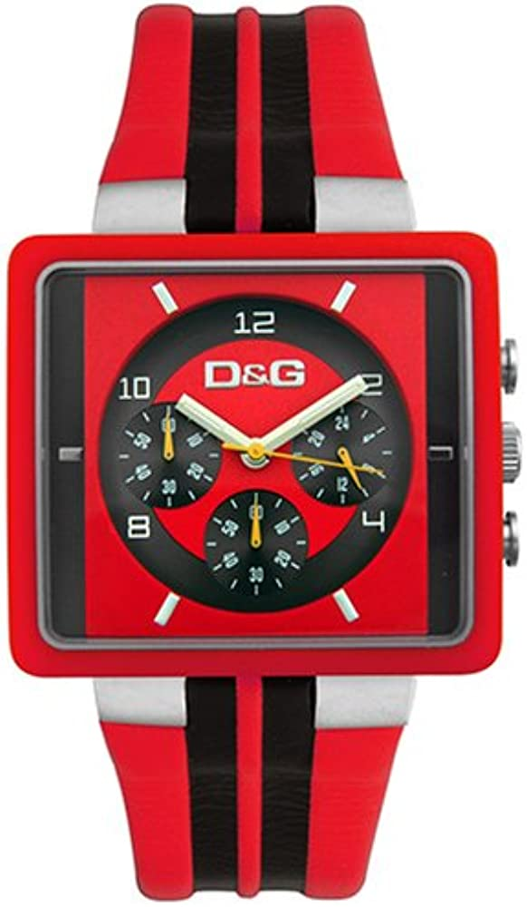 Dolce&gabbana,orologio,cronografo per uomo,cassa in ceramica e cinturino in vera pelle DW0064