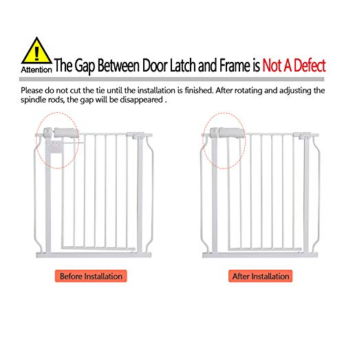 41WNVCeZ sL The 7 Best Pressure Mounted Baby Gates of [2021 Review]
